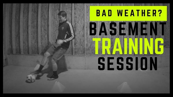 Bad Weather? Basement Training Session