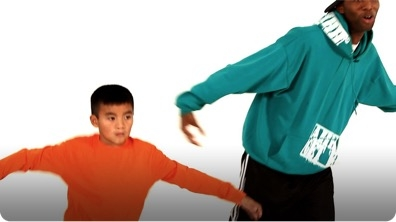 How to Do the Kick Step Hip-Hop Dance for Kids