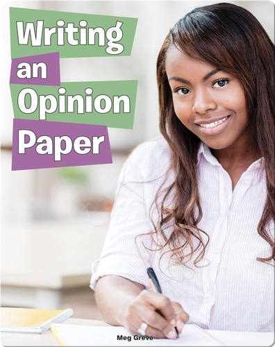 Writing an Opinion Paper