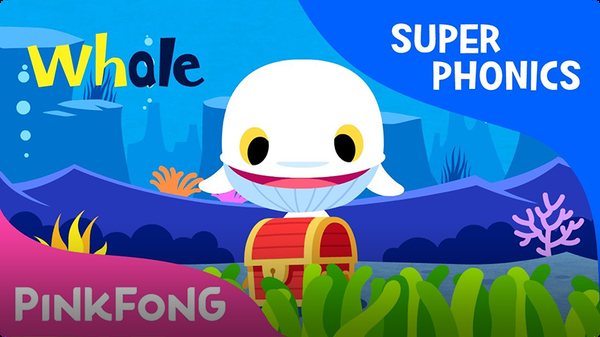 Super Phonics - White Whale (wh)