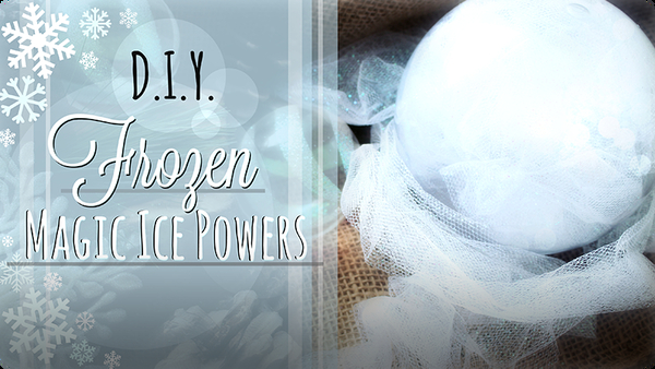 How to have Ice Powers: Magical Glowing Snow Globe for Dress Up and Play-Pretend