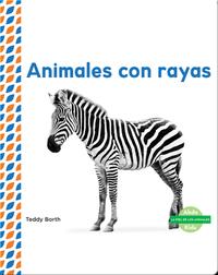 Animales con rayas