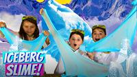 Slime for Kids | Learn How to Make Iceberg Crunchy Slime!