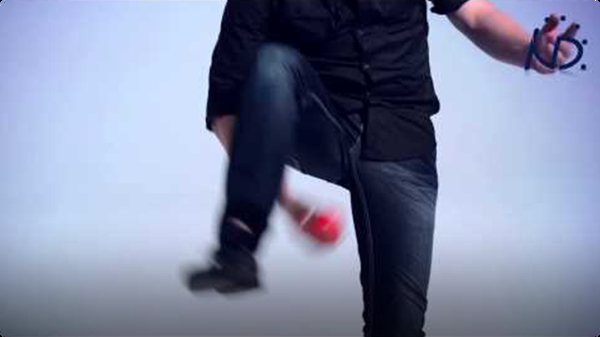 Juggling Trick: Under the Leg and Behind the Back