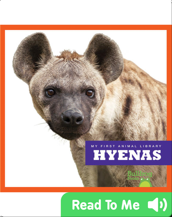 My First Animal Library: Hyenas