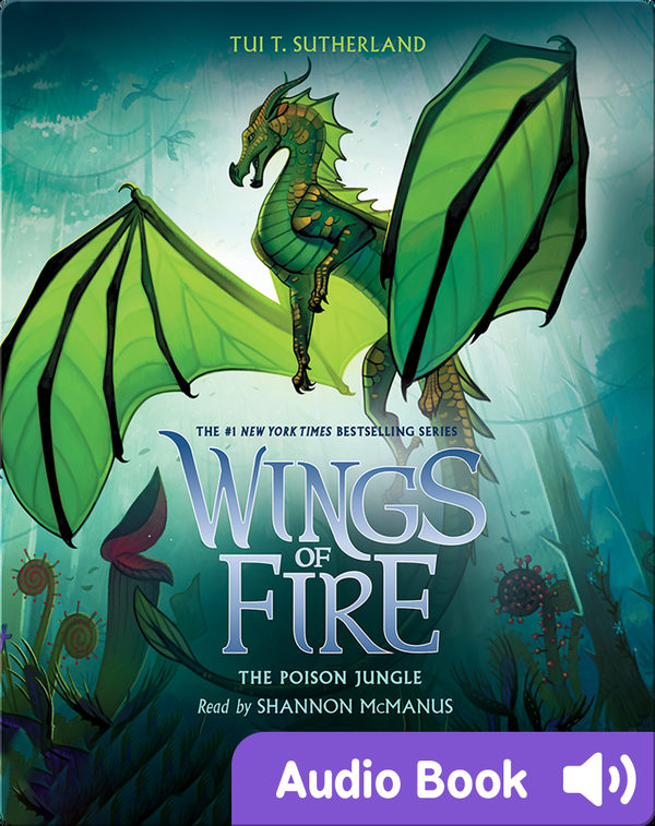 Wings of Fire #13: The Poison Jungle