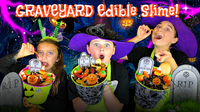 How to Make Edible Graveyard Slime!