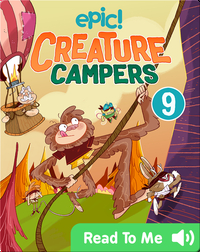 Creature Campers Book 9: The Wall of Doom
