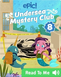 Undersea Mystery Club Book 8: The Puzzling Paintings