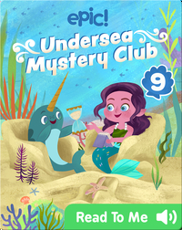 Undersea Mystery Club Book 9: The Puzzling Paintings