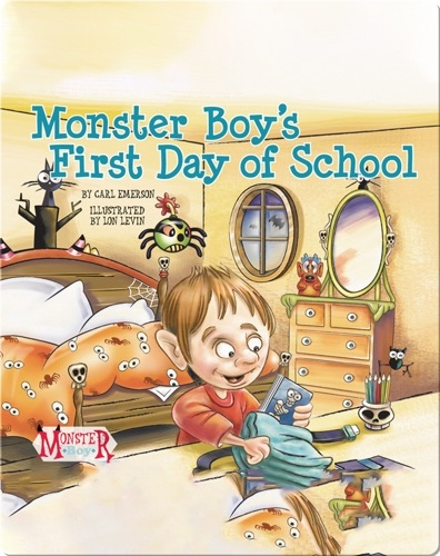 Monster Boy's First Day of School