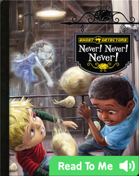 Ghost Detectors Book 9: Never! Never! Never!