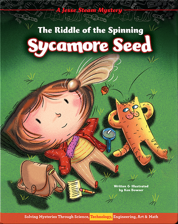 Jesse Steam Mysteries: The Riddle of the Spinning Sycamore Seed