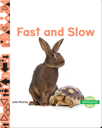 Opposites: Fast and Slow