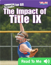 Sports for All: The Impact of Title IX
