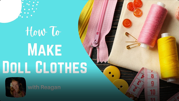 Adventure Family Journal: How to Make Doll Clothes