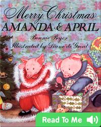 Merry Christmas Amanda and April