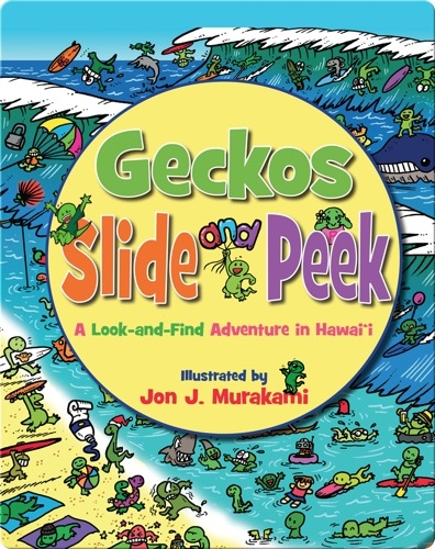 Geckos Slide And Peek