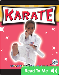 Sports For Sprouts: Karate