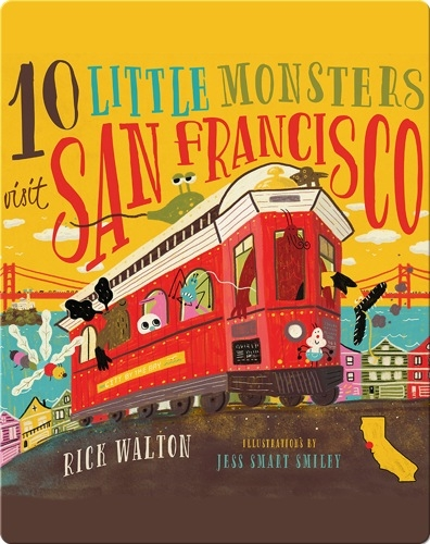 10 Little Monsters Visit San Francisco