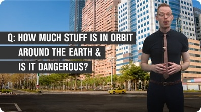 How Much Stuff is in Orbit Around the Earth?
