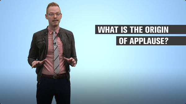 What Is the Origin of Applause?