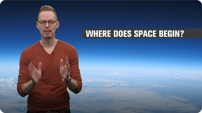 Where Does Space Begin?