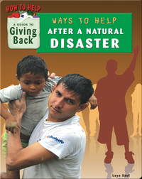 Ways to Help After a Natural Disaster