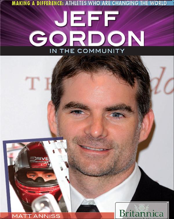 Jeff Gordon in the Community