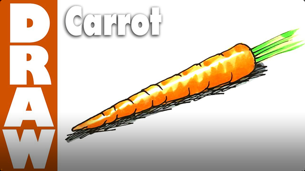 How to Draw a Carrot