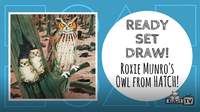 How to Draw the OWL from 'HATCH!'