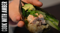 Amber in Japan | Sushi Hand Rolls