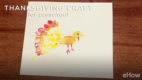 Thanksgiving Lessons & Crafts for Kindergarten