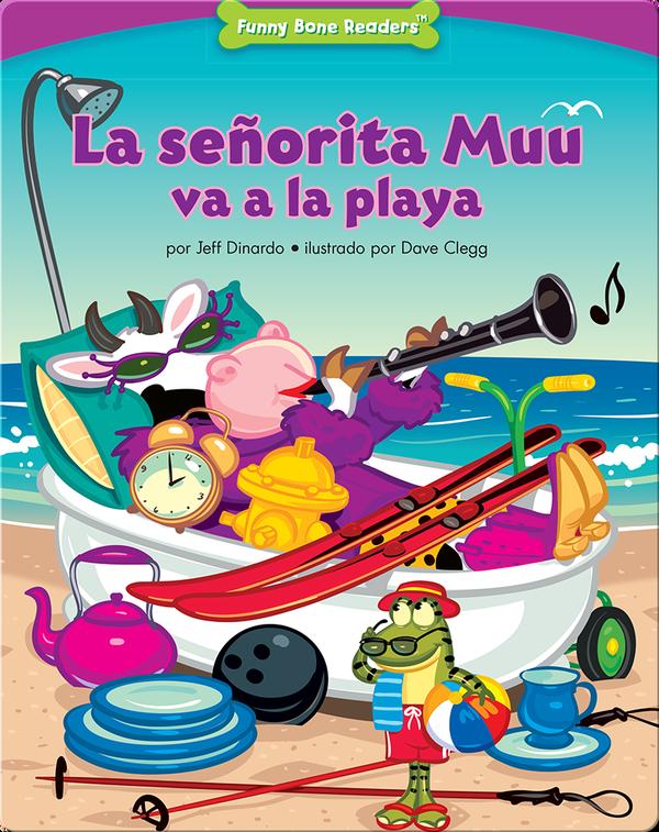 La señorita Muu va a la playa