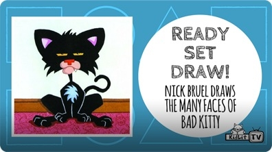 Ready Set Draw! How to Draw Bad Kitty