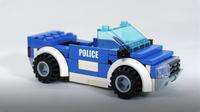 How To Build LEGO Police Car