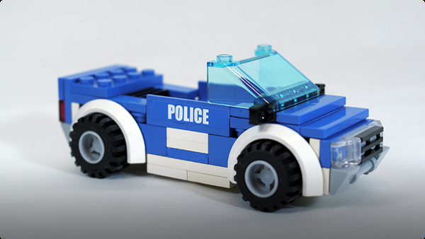 How To Build LEGO Police Car