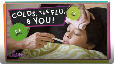 SciShow Kids: Colds, the Flu, and You