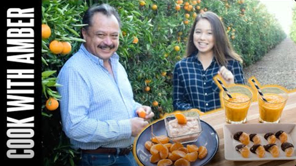 Clementines 3 Ways AND A Trip to the Grove! | Cook With Amber