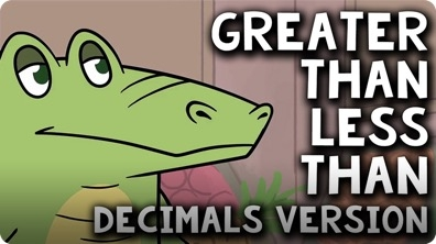 Comparing Decimals: Less Than, Greater Than