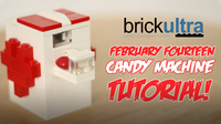 February Fourteen LEGO Candy Machine Instructions Tutorial