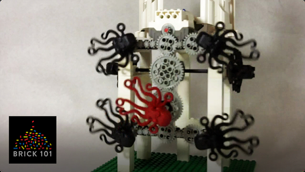 How To Build LEGO Octopus Machine
