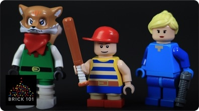 How To Build LEGO Nintendo Characters (Fox, Samus, & Ness)