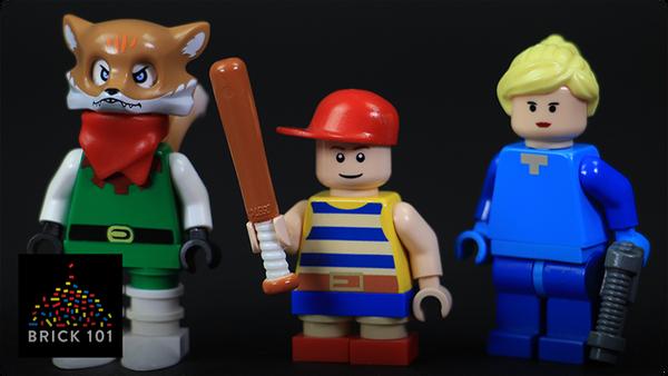 How To Build LEGO Nintendo Characters (Fox, Samus, & Ness)