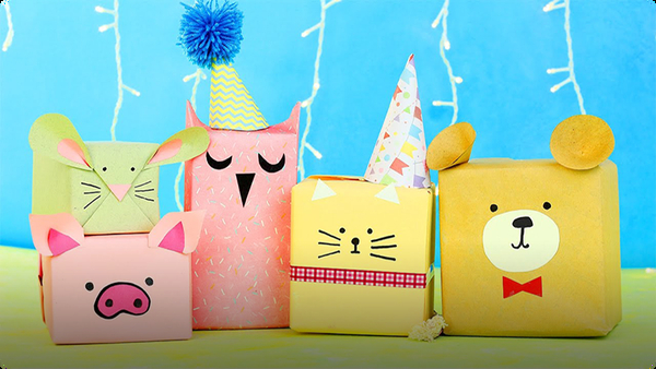 6 DIY Animal Gift Wrap Ideas