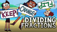 Dividing Fractions with Keep Change Flip