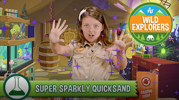 How to Make Sparkly Quicksand