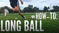 How to Hit a Long Ball in Soccer/Football