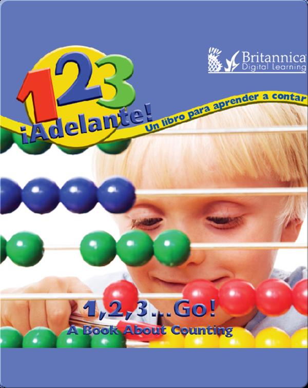 1, 2, 3, ¡Adelante! Un libro para aprendar a contar (1,2,3, Go!)