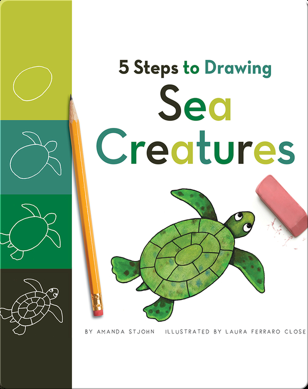 5 Steps to Drawing Sea Creatures